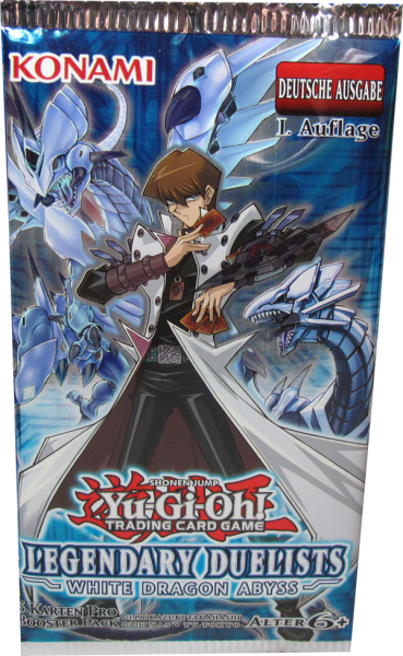 Yu-Gi-Oh! Legendary Duelists White Dragon Abyss Booster deutsch