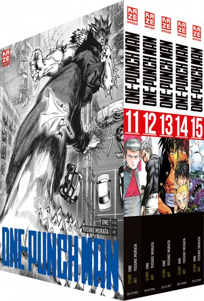 One-Punch Man 11 - 15 Box
