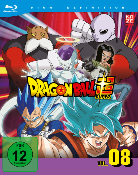 Dragonball Super Vol. 08 Blu-ray