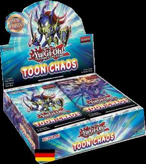 Yu-Gi-Oh! Toon Chaos Booster Display (Nachdruck)