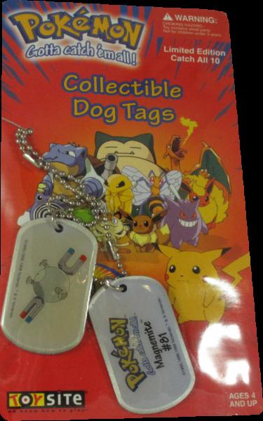 Pokemon Dog Tag Magnemite #81