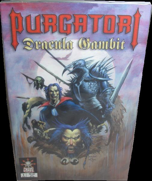Purgatori #1-3 + Dracula Gambit Standart Edition