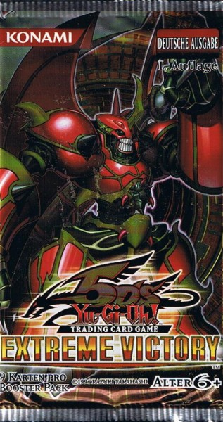 Yu-Gi-Oh! Extreme Victory Booster deutsch