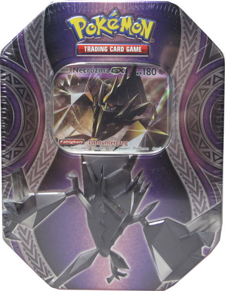 Pokemon Necrozma GX Tin Box deutsch