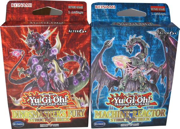 Yu-Gi-Oh! Structure Deck Set: Machine Reactor & Dinosmasher`s Fury