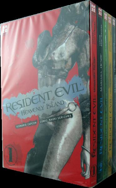 Resident Evil Heavenly Island - Komplett Set