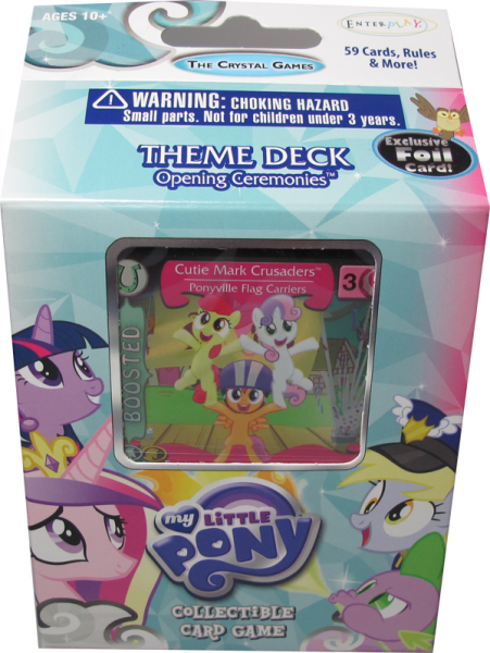My little Pony The Crystal Games Theme Deck Opening Ceremonies