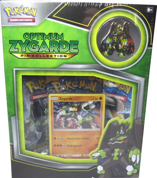 Pokemon Optimum Zygarde Pin-Kollektion