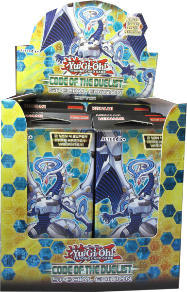 Yu-Gi-Oh! Code of the Duelist Special Edition Display