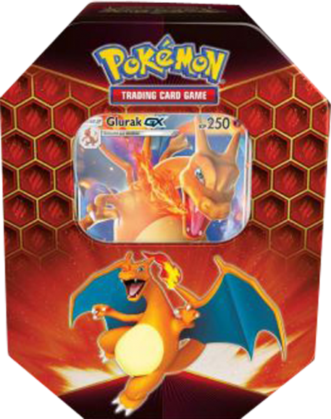 Pokemon Glurak-GX Tin Box deutsch