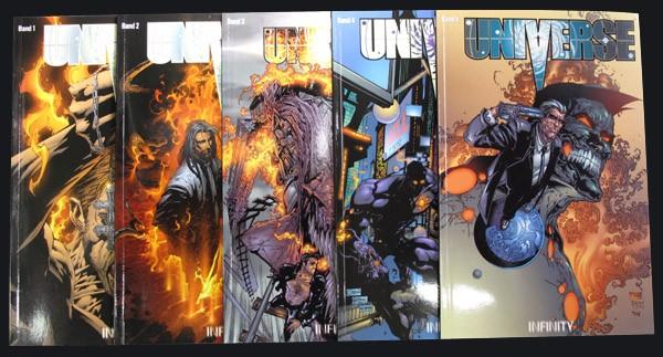 Universe # 1-5 Comic-Set
