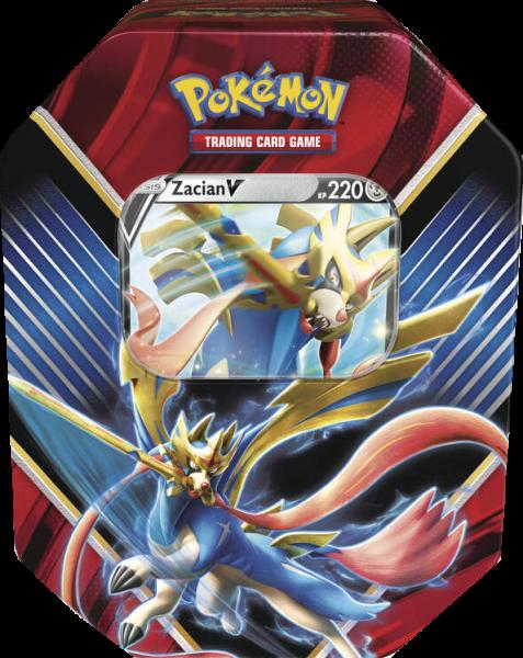 Pokemon Zacian-V Tin Box deutsch