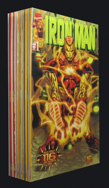 Iron Man # 1-12 Comic Set
