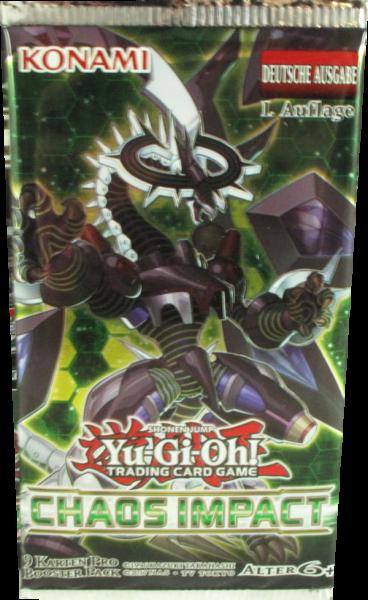 Yu-Gi-Oh! Chaos Impact Booster deutsch
