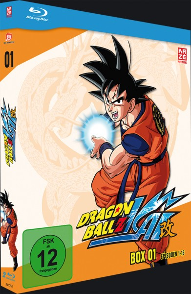 Dragonball Z Kai Box 01 Blu-ray