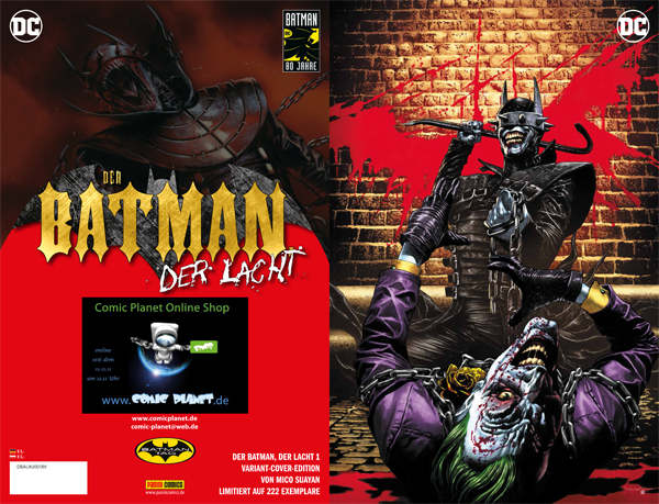 Der Batman, der lacht #1 Exklusives Comic Planet Variant Cover
