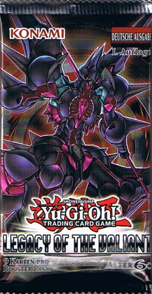 Yu-Gi-Oh! Legacy of the Valiant Booster deutsch