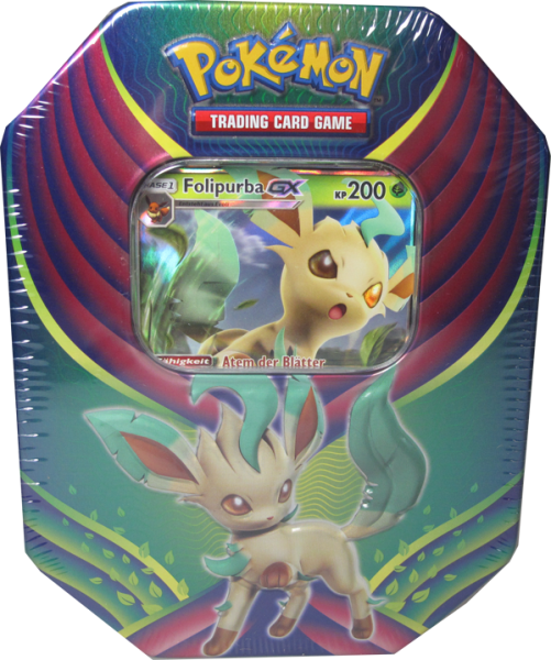 Pokemon Folipurba GX Tin Box deutsch
