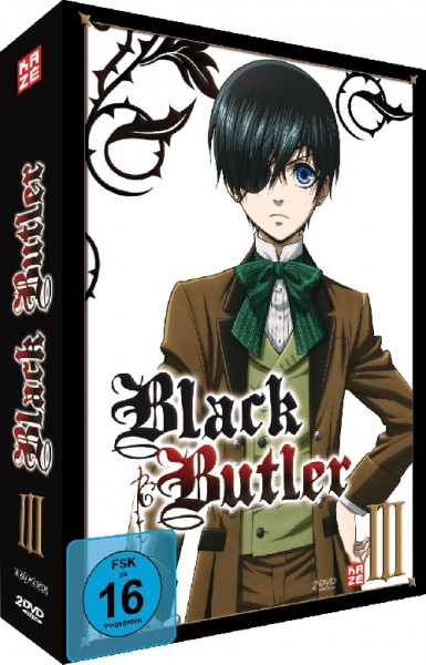 Black Butler Vol. 03 Box