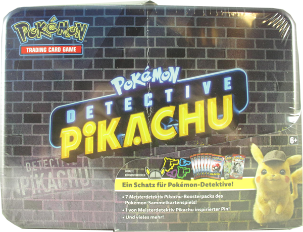 Pokemon Detective Pikachu Collectors Chest deutsch
