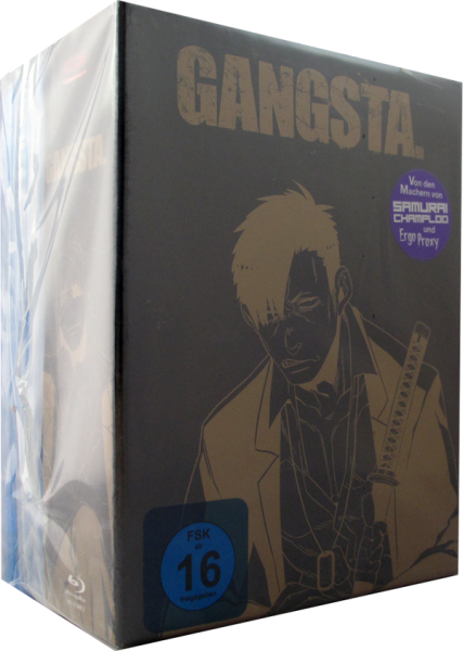 Gangsta Box Set 1-4 DVD
