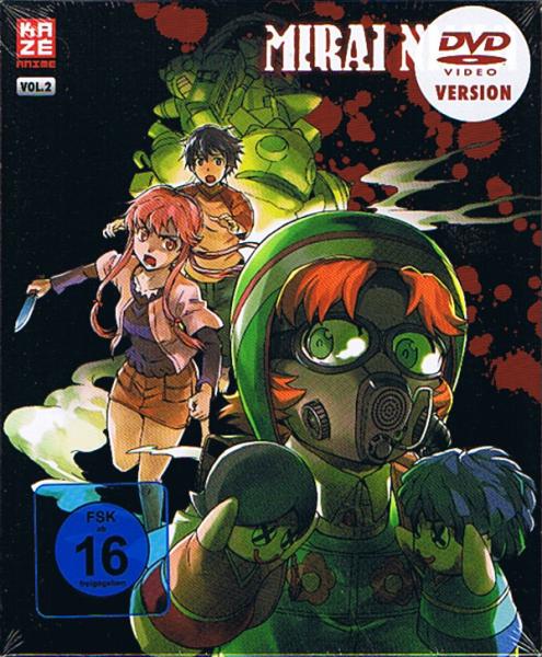 Mirai Nikki Vol. 02