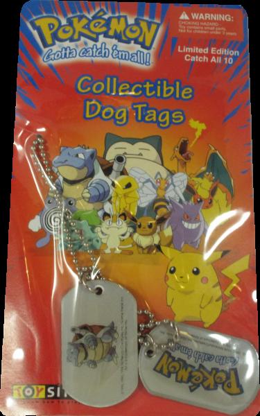 Pokemon Dog Tag Turtok