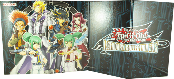 Yu-Gi-Oh! Legendary Collection 5D's beidseitiges Spielbrett