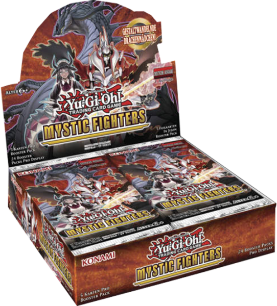 Yu-Gi-Oh! Mystic Fighters Booster Display