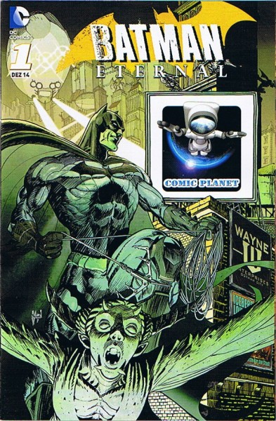 Batman Eternal #1 Variant Cover