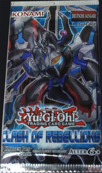 Yu-Gi-Oh! Clash of Rebellions Booster deutsch