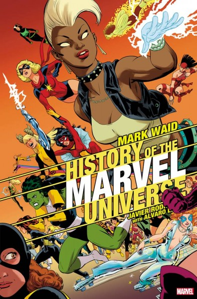 HISTORY OF MARVEL UNIVERSE #4 (OF 6) RODRIGUEZ VAR