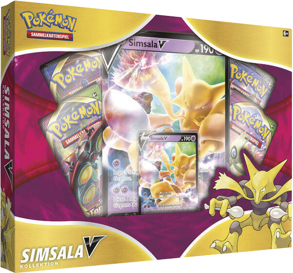 Pokemon Simsala V- Box deutsch