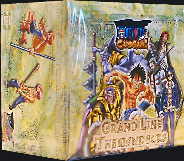 One Piece Grand Line Themendeck Display