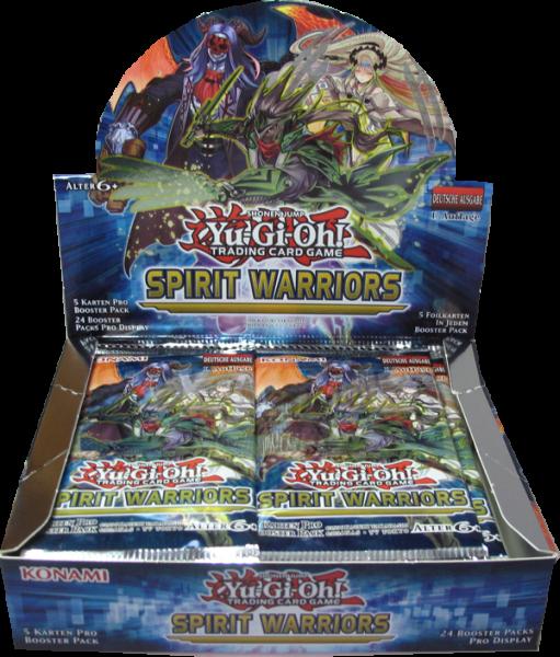 Yu-Gi-Oh! Spirit Warriors Booster Display