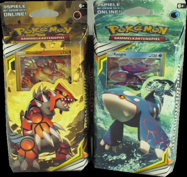 Pokemon Sonne & Mond Welten im Wandel Themendeck Set