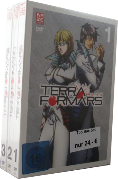 Terra Formars Mitssion to Mars DVD Set 1 - 3