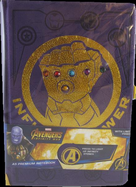 Notizbuch von Avengers Infinity War