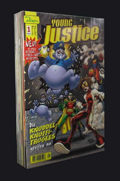 Young Justice # 1-9 Comic Set