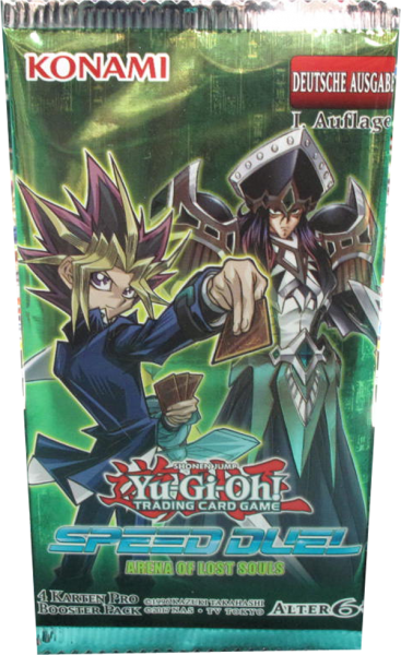 Yu-Gi-Oh! Speed Duel Arena of Lost Souls Booster deutsch
