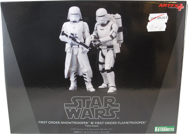 Action Figur Star Wars First Oder Snowtrooper & First Order Flametrooper
