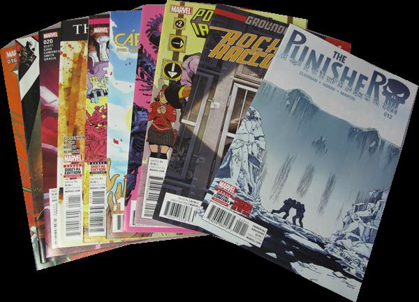 10er US-Set Marvel Comics
