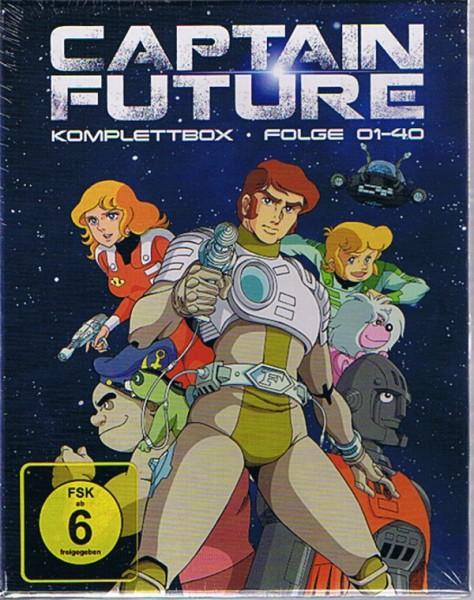 Captain Future Komplettbox Blu-ray