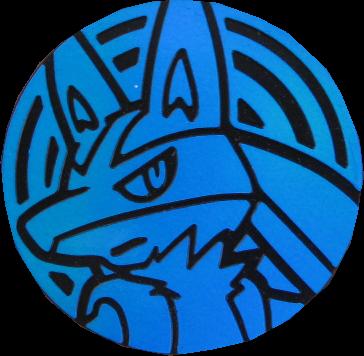 Pokemon Münze - Lucario