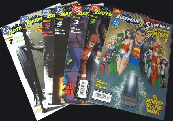 Batman und Superman präsentieren: Identity Crisis #1-7