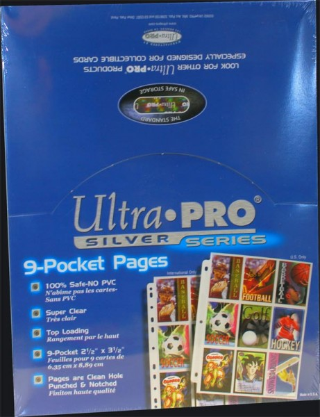 Ultra Pro 9er Sheets 100er Display