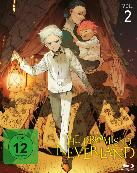 The Promised Neverland Vol. 02 Blu-ray