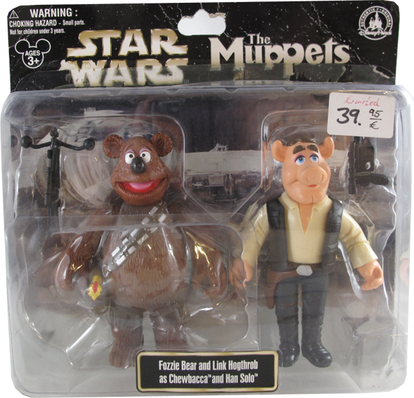 Action Figur Disney Star Wars The Muppets - Fozzie BEar and link Hogthrob
