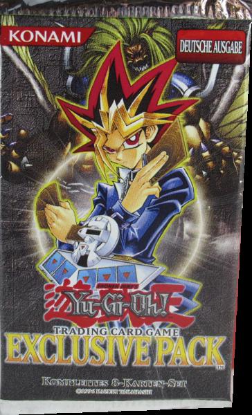 Yu-Gi-Oh! Exclusive Pack Booster deutsch