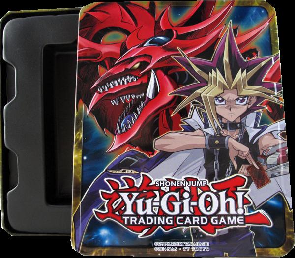 Yu-Gi-Oh! 2016 Tin Box - Yugi Slifer - Ohne Inhalt